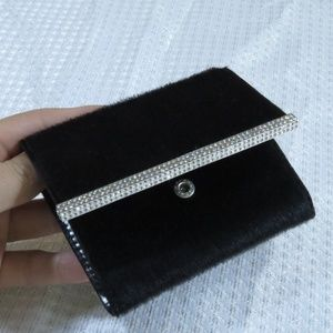 Swarovski Small Wallet Whit Crystal Detail